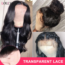 Lolly Body Wave Wig 13x4 150% Malaysian Transparent Lace Front Human
