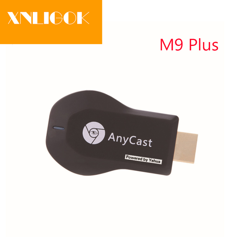 AnyCast M9 Plus 1080P Wireless RK3036 TV Stick WiFi Display Dongle HDMI Receiver Media TV Stick DLNA Airplay Miracast