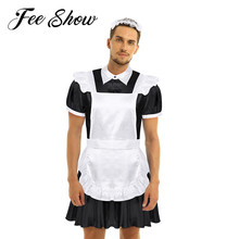 Men Sissy Shemale Clothes Maid Cosplay Costume Male Gay Crossdresser Halloween Role playing Games Man Lingerie For Crossdressing