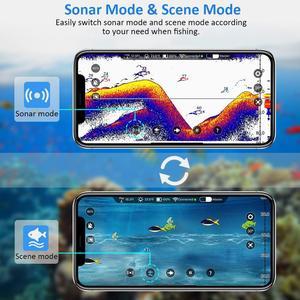 Image 3 - Eyoyo Sonar de pesca inalámbrico, ecosounds portátil para pesca, Sónar inteligente con Bluetooth, buscador de peces más profundo, sondeur peche