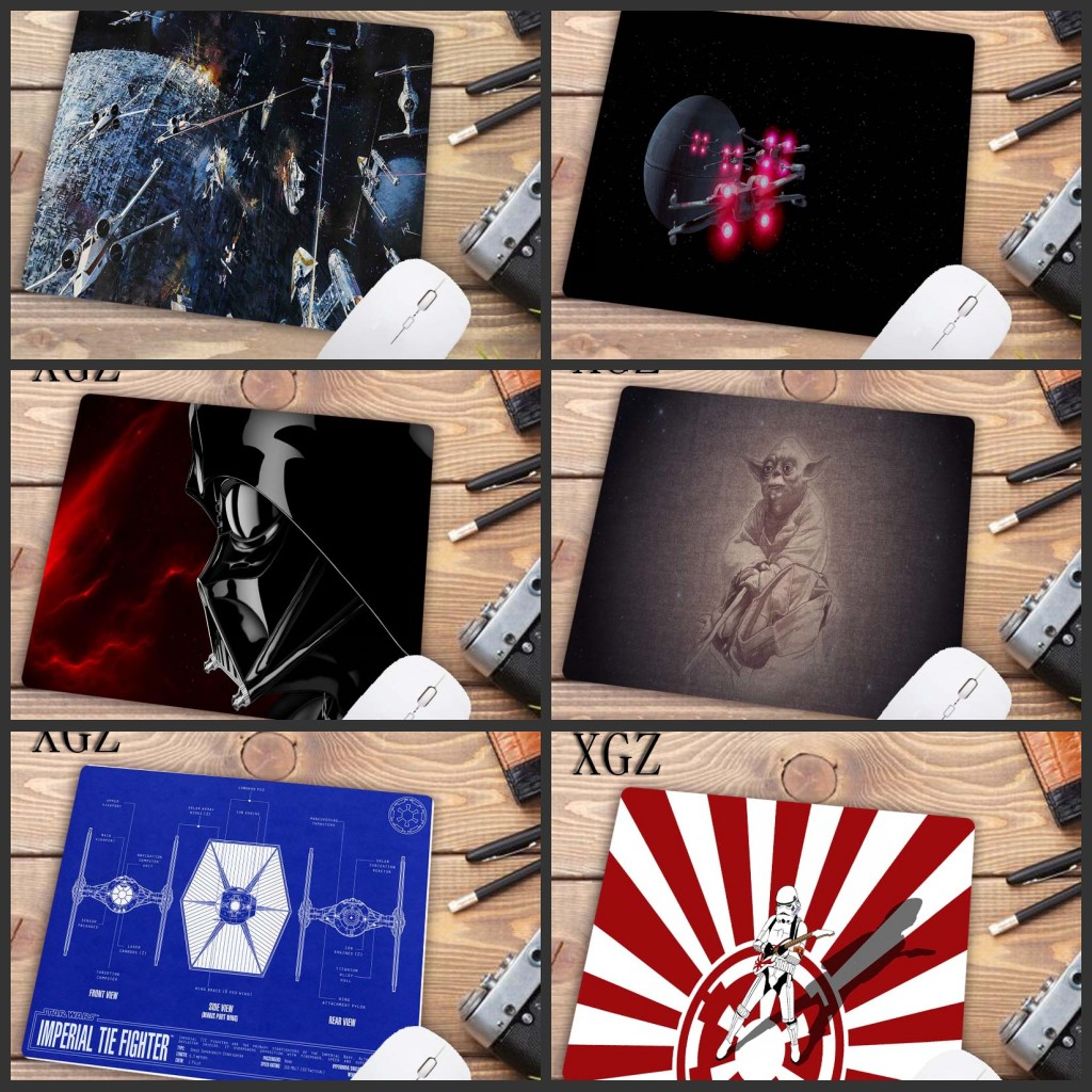 XGZ 22X18CM Big Promotion  Laptop Gaming Mouse Pads Star War Mouse Pad Mat For LOL Dota2 CSGO Mouse Mice Pad For Game Player