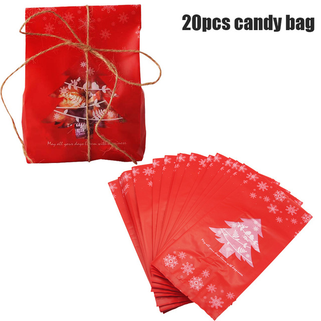 red candy bag