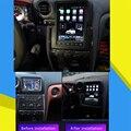 128G Tesla Экран для Nissan GT-R GTR Skyline 2009-2017 Android обоих концах для подключения внешних устройств к автомобильной мультимедийный плеер Авто Радио GPS на...