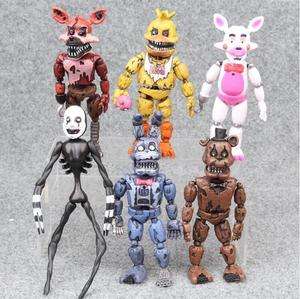 Image 4 - Figuras de acción de FNAF, Bonnie Foxy, Fazbear, muñecos de juguete para niños, cinco noches en freddys, 17 unidades