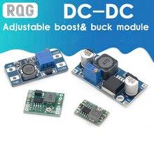 Módulo de fuente de alimentación estabilizada de voltaje DC-DC, elevador ajustable y módulo regulador de voltaje LM2596S-ADJ MT3608 MP1584EN