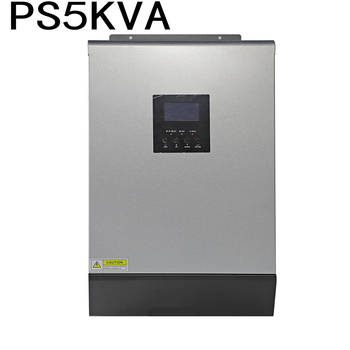 5000VA PS5KVA Hybrid Solar inverter 48VDC to 230VAC with 48V50A Solar Charger Controller and 60A AC Charger Parallel function high performance mobile phones app solar controller inverter wireless controller