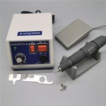 35K New Arrival STRONG 210 MARATHON N3 H37L1 Handpiece 65W 35000rpm Nail Drills Manicure Machine Pedicure Electric File Bits Kit