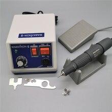 MARATHON N3 H37L1 brocas para uñas, 65W, 210 rpm, máquina de manicura y pedicura, Kit de brocas eléctricas, 35K, novedad de 35000