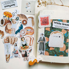 French Bread Scrapbooking Stickers Decorative Journal Planner DIY Craft Photo Albums Card Make Sticker(China)