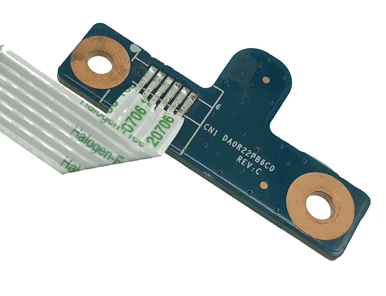 惠普HSTN-Q72C HSTNN-Q68C G4 G6 G7 G4-1000 G6-1000 G7-1000 G4-1125DX 电源开关小板DA0R22PB6C0