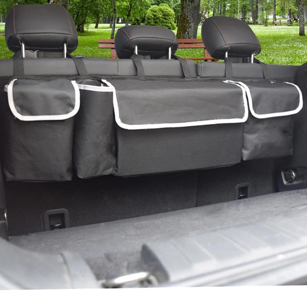 Auto Space Saving Hanging Foldable SUV Car Backseat Cargo Boot Trunk Storage Organizer