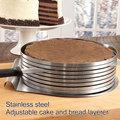 3 типа резак для теста, триммер из нержавеющей стали, регулируемая проволока для торта, слайсер для пиццы, инструменты для выпечки, кухонные ...