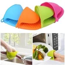 Bowl Microwave Oven Non-Slip-Gloves Silica-Gel Baking Heat-Insulation Anti-Scalding Kitchen