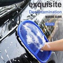 Автомобильный стиль, шерстяные мягкие перчатки для мытья автомобиля, щетка для чистки, мотоциклетная шайба, товары для ухода