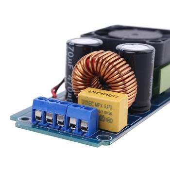 IRS2092S 500W Mono kanałowy wzmacniacz cyfrowy klasy D etap HIFI wzmacniacz mocy pokładzie z wentylatorem tanie i dobre opinie NONE CN (pochodzenie) Profesjonalny sprzęt audio J60A4NB602796 approx 100x46mm