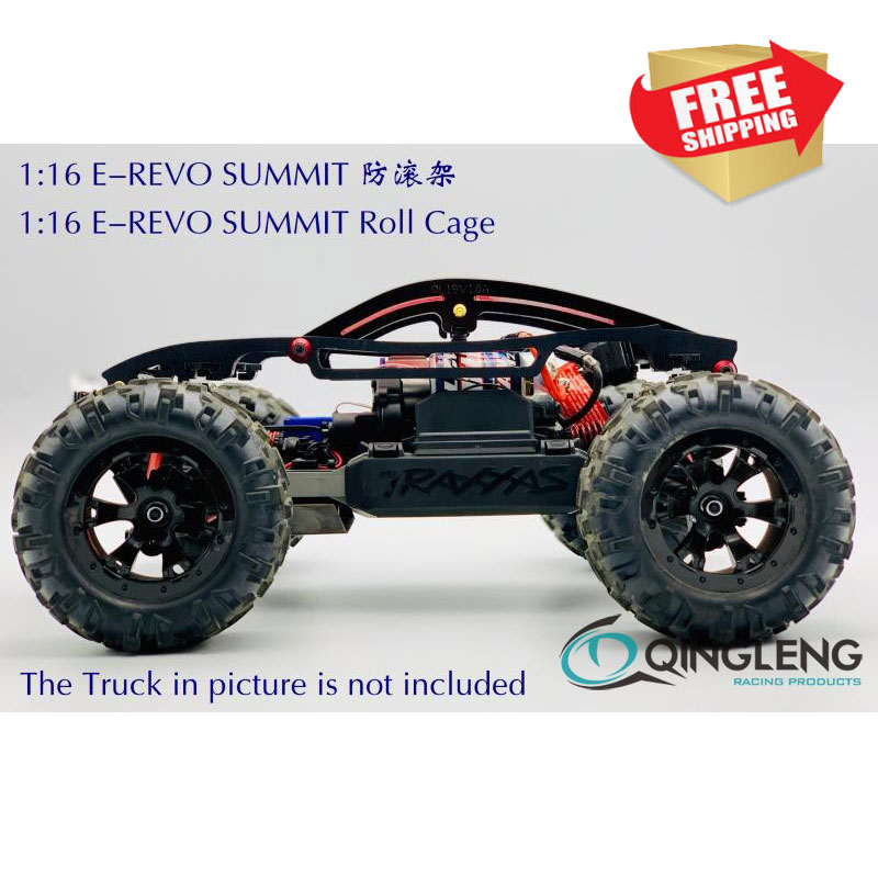 Rc Car 1/16 EREVO E-REVO SUMMIT TRAXXAS 71076-3 Roll Cage Roll Bar Body Shell Protection  QL Free Shipping