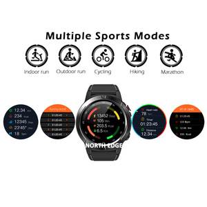 Image 5 - דיגיטלי שעון עמיד למים צפון קצה גברים שעונים ספורט צבאי LED צמיד דיגיטלי שעונים relogio masculino Bluetooth שעונים