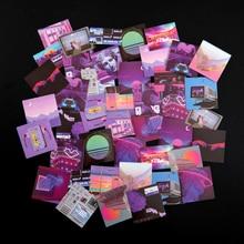 46 pcs/Set Night Buoyancy Series Decorative Stationery Stickers DIY Diary Album Retro Stick Label School Office Supply New Arriv