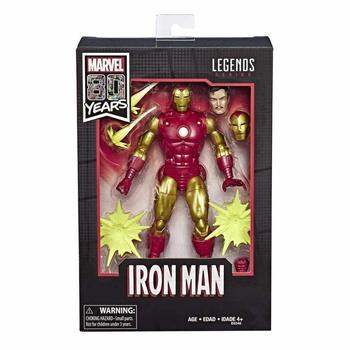 """Marvel Legends 80th Anniversary Iron Man Comics Version Comics Version 6"""" Action Figure Original Collection Collectable Toys NEW"""