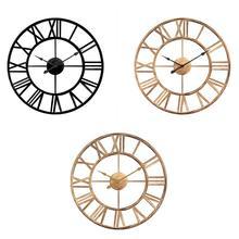 Modern Minimalist Wall Clock Nordic Living Room Geometric Creative Clocks American Fashion Home Bedroom Silent