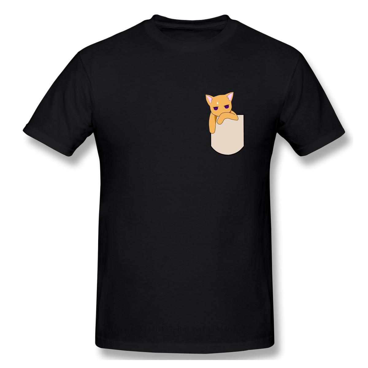 Новая летняя футболка с карманом для кошки, хлопковая Футболка с корзиной для фруктов, Tohru Honda Yuki Kyo Soma, японская футболка с рисунком из аниме