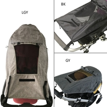 Stroller Sun Shade Universal Pram Sunshade Windproof Waterproof UV Protection Sun Cover for Pushchair Buggy Carrycot Kids Baby P