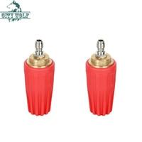 5000PSi 360 turbo rotativo válvula de cerâmica bico de limpeza industrial de alta pressão lavador de carro comercial acessório