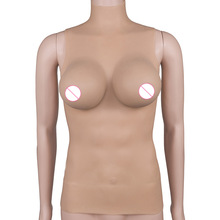 3175g Fullbody Silicone Suit Integral Forming CD TG Drag Queen E/F Cup Boobs Size S/M/L Bras Sexy