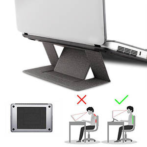 Bracket Tablet-Holder Laptop-Pad Folding iPad Adjustable Function Macbook Convenient