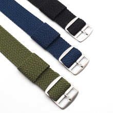 High Quality Fashion Nylon Woven For Perlon Straps Different Colors 20mm 22mm Watchband все цены