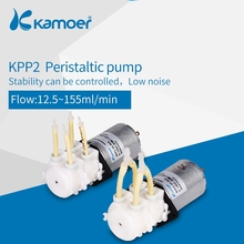 Kamoer peristaltic chemical dosing pump double head KPP2 kamoer precision peristaltic dosing pump machine