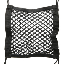 Hot Sales 1pcs 26x24cm Car Storage Net Seat Elastic Mesh Truck Cargo Luggage Bag Holder Styling