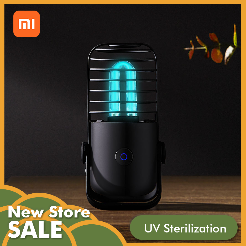 Xiaomi Ozone UV-C Sterilization Disinfection Lamp Wireless Potable Ultra Violet Light For Disinfect Bacterial