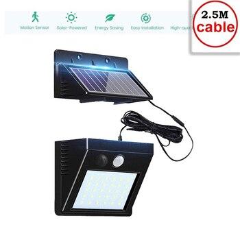 30 LED Solar light Solar Power PIR Motion Sensor Wall Light Outdoor Waterproof Energy Saving Street Garden Security Lamp indoor