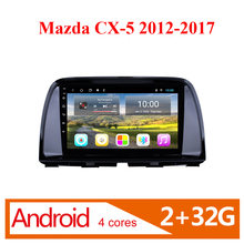 цена на 2 DIN Android car multimedia player WIFI  gps navigation stereo For Mazda CX5 CX-5 CX 5 2012 2013 2014 2015 2016 2017