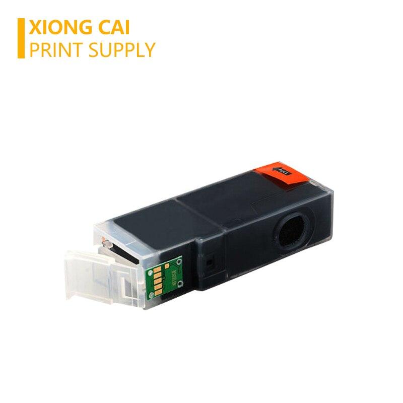 Купить с кэшбэком 5pcs Black PGI570 PGI 570 Compatible Ink Cartridges For Canon PIXMA MG5750 MG5751 MG5753 MG6850 MG6851 MG6852 MG7750 PGI-570