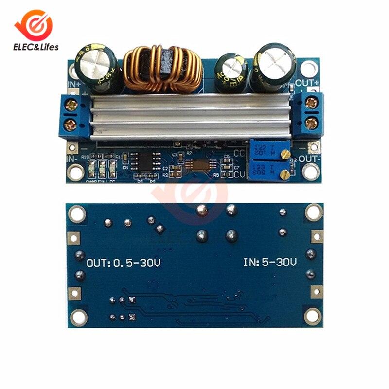 Автоматический понижающий модуль питания, солнечная панель, литиевая батарея, постоянный ток, 35 Вт, 3 А, CC CV, зарядка
