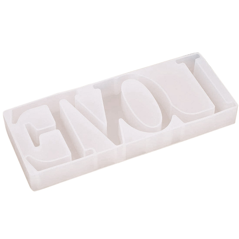 Love Silicone Molds Resin Word Mold For Epoxy Resin DIY Table Decoration Resin Word Sign Molds Romantic Resin
