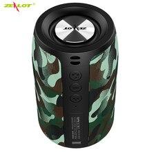 ZEALOT S32 Wireless Bluetooth Speaker Mini Portable HIFI Subwoofer Speaker with fm Radio Column Support TF, TWS, USB Flash Drive