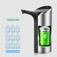 Smart Automatic Wireless Water Dispenser Pump High Quality USB Rechargeable Gallon Water Pump Portable Drinking Bottle Switch