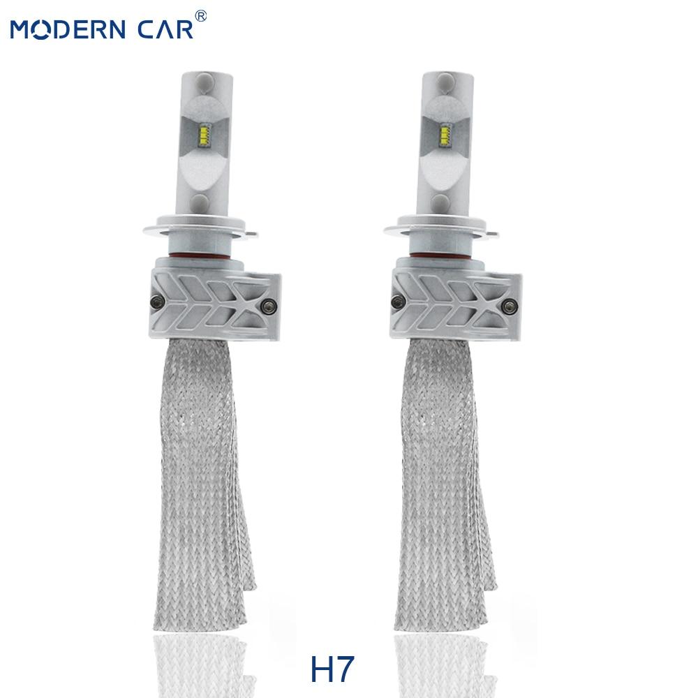 1 pcs*Super Bright Imported csp Chip 72W Car LED Headlight Kit H4 M50P Headlight LED h4