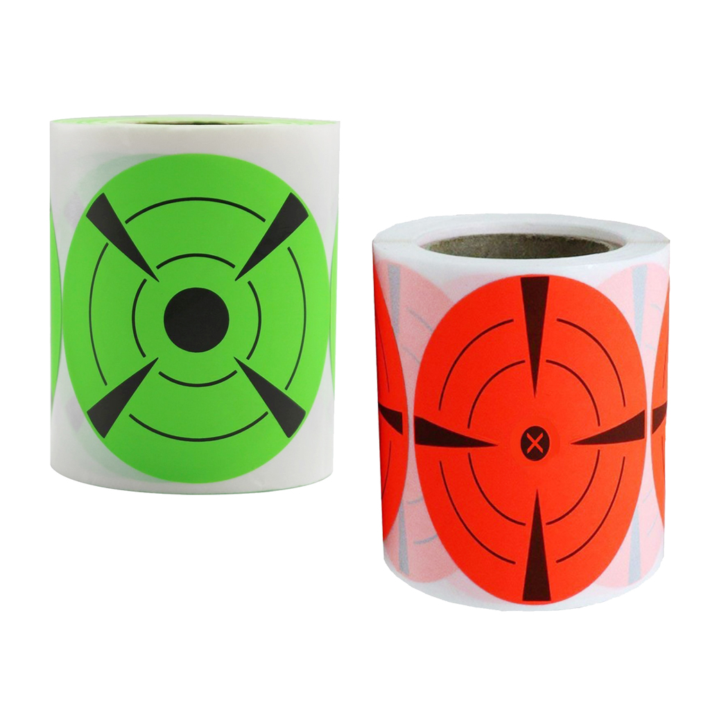 250x Splatter Shooting Target Stickers 3