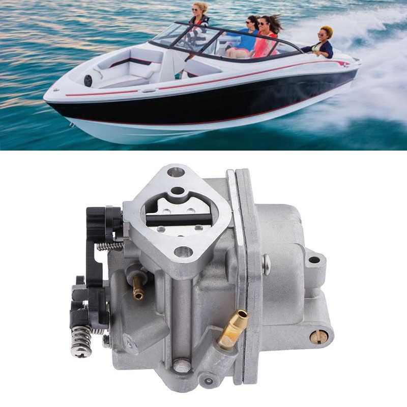 Thuyền Bộ Chế Hòa Khí Mềm Carburador Carb Assy Cho 4 Thì 4HP 5HP Tohatsu/Nissan/Mercury Outboard Thuyền Máy Phụ Kiện mềm