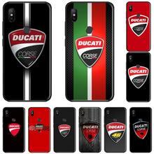 Ducati Corse Logo TPU Soft Silicone Phone Case Cover For Xiaomi Redmi Note 4 4x 5 6 7 8 pro S2 PLUS 6A PRO lavaza the walking dead soft tpu case for xiaomi redmi note 5 6 7 pro for redmi 5a 6a s2 5 plus silicone cover
