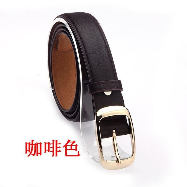 Leather Belt Women Pin Buckle Belts Black Leopard Belt Strap Waist Belts Women Jeans Pants