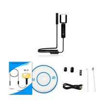 5.5mm 0.3 MP Wifi Endoscope Camera Hard Cord IP67 Waterproof Tube Pipe Borescope Camera Endoscope For Android For Iphone