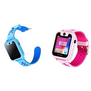 Image 2 - S6 Kinder Smart Uhr Kinder SOS Anruf Location Finder Locator Tracker Kamera Spiel HD 1,44 Zoll Bildschirm Smartwatch