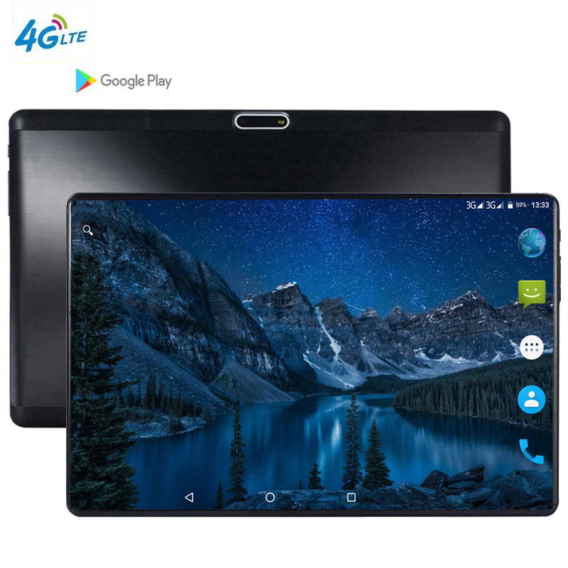 XD Plus Android 4G 10.1 Tablet Screen Mutlti Touch Android 9.0 Octa Core Ram 6GB ROM 128GB Camera 5MP Wifi 10 Inch Tablet Pc