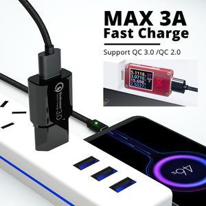 Image 2 - Câble magnétique Micro USB Type C aimant téléphone USB câble chargeur rapide 3A cordon de Charge rapide pour fil de téléphone portable Android