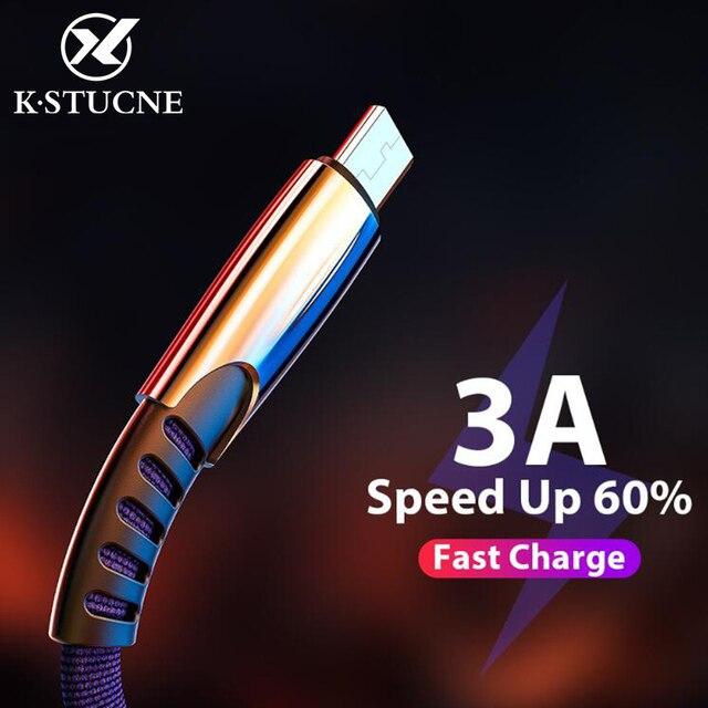 5A מיקרו USB כבל מהיר תשלום USB נתונים כבל סנכרון כבל עבור סמסונג S7 Huawei Xiaomi Redmi הערה 4 5 אנדרואיד Microusb טלפון כבל